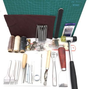 Sewing Notions & Tools 42pcs set Easy Apply Hand Practical Stamping Home DIY Durable Craft Tool Set