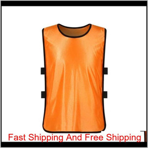 Team Training Scrimmage Vests Soccer Basketball Youth Adult Pinnies Jerseys Sports Vest Breathable Team jllDmx xhlove