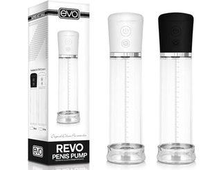 Electric Penis Pump Sex Machine   Evo   Revo Handsome Up Penis Enlargement Pump Male Masturbator Sex Toy