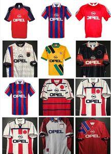 91 92 93 94 95 96 97 98 99 00 01 02 Bayern Retro Futbol Formaları 1993 1995 1997 1998 Scholl Vintage Elber Matthaus Lizarazu Remberg Hargreaves Klinsman Futbol Gömlek