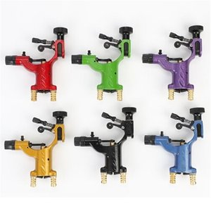 New Style Dragonfly Rotary Tattoo Machine Shader and Liner Mini Artist Motor Lining Starter Kit Colorful Manual Beginner Kit