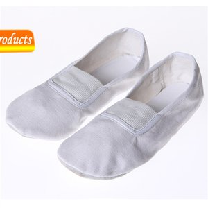 Canvas Gymnastic Soft Soled Dance Shoes, Yoga Special Morning Exercise Acrobatic Performance Shoes for the Elderly 49T3