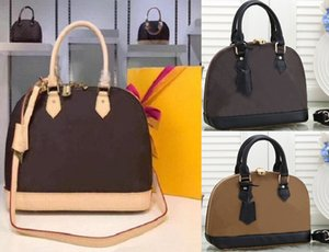 2021ss Women Luxurys Designers Shoulder Bags Alma Bb Fashion Lady Chain Messenger Bag Leather Handbags Shell Wallet Purse Ladies Cosmetic Crossbody Tote LQ69