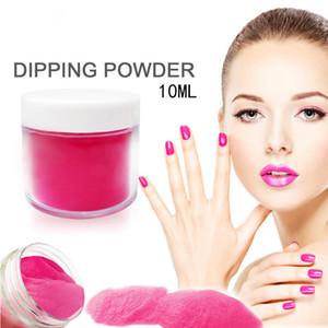 4 in 1 Bright Nude Pink Colors Dipping Powder Tool Kits Set 10g/Box 16ml Base Top Coat Activator Dip Powders Nails Color
