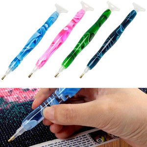 Sewing Notions & Tools DIY Diamond Painting Pen Tool Accessories Rhinestones Pictures Double Head Embroidery Point Drill Gift#40