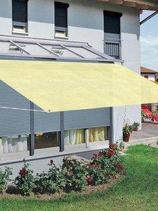 Shade Sun Sail Rectangle UV Block Outdoor Solar Sunshade Cover UV-resistant Awning Courtyard Screen