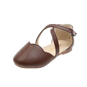 Girls Shoes Kids Sandals Spring Summer Leather Girls Sandals Baby Shoes Kids Shoes Princess Childrens Footwear B3932