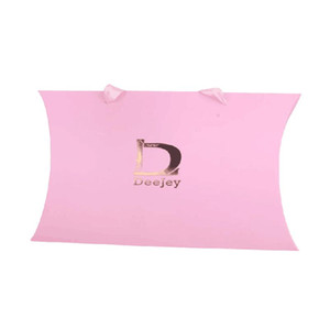 Wholesale 500Pcs Lot Custom Hair Extension Wig Packaging Box Bag Luxury Clothes Jewelry Paper Shopping Bag with Ribbon Bow Tie