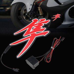 Etiqueta impermeável da motocicleta do capacete de 12V Luz para Suzuki Hayabusa GSXR1300 1999-2008-2019 GSX-R 1300
