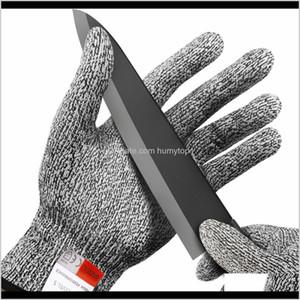 مقاومة مقاومة قفازات مكافحة سكين بالمنشار سلامة قفازات المستوى 5 حماية مطبخ الصيد بقاء والعتاد التخييم أداة LF010 BCL ovd8w
