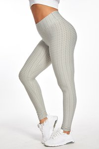 Free stock peach hip jacquard pants thickened bubble pants leisure fitness sports slim hip yoga pants women S-XL