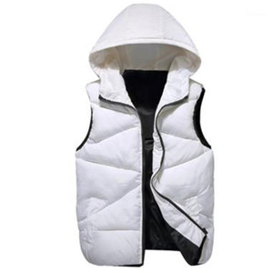 Vest Men Winter Vest Doudoune Sans Manche Down Men Winter Down Waistcoat Men's Sleeveless Jacket Overcoats Gilet1