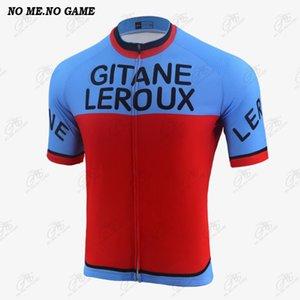 Racing Jackets Summer Vintage Cycling Jersey Road Bicycle Shirt Men Short Sleeve Breathable Mountain Bike Clothing MTB