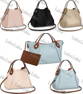 M51950 M54350 Desinger pierced flower decoration leather HINA small handbag Women bucket Handbag shopping cross-body shoulder bag