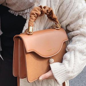 Vintage Square Tote bag 2021 Fashion New High quality Matte PU Leather Women's Designer Handbag Travel Shoulder Messenger Bag