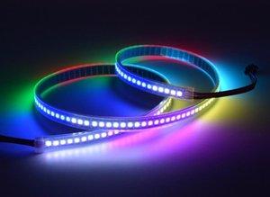 DC5V SK9822 48/72/96 / 144LEDS / PIXELS / M APA102 RGB LED Pixel Tape Light Lightable LED ABRADA LED
