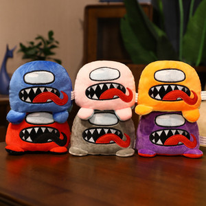 Reversible Among Us Plush Toys Double-sided Among Us Plush Toys space werewolf killing game doll plush toy Game Kawaii Stuffed Doll Toys