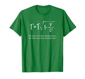 T '= T / SQRT (1- V ^ 2 / C ^ 2) Relatividad especial de la teoría de Einstein