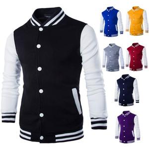 Newest Men Baseball Jacket Fashion Design Men's Slim Fit College Varsity Coats Boy Girl Sport Outerwear Brand Stylish Veste Homme Clothing