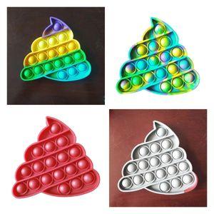 Hot Pop It Toys Push Pop Bubble Sensory Fidget Toy Autism Stress Relief Kids Adults Autism Special Needs Game H237JWB