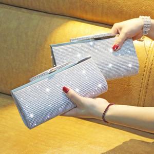 HBP Luxurys Designers Diamond Inlaid Cena Doble Sides Banquete Mano Dama de honor Vestido Bolsa de reunión anual de mujeres 051