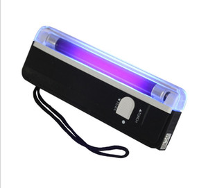 Handheld UV Lamp Light Torch Led Flashlight Money Detector Counterfeit Currency Bill Fake Banknotes Passports Security Check