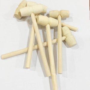 Mini Holz Hammer Kugeln Spielzeug Pfund Ersatz Holz Schläger Schmuck Handwerk DIY Handgemachte Kindergarten Kreative Materialien