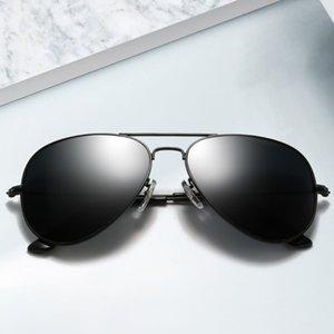 JINHUI 3025 Gafas de sol Piloto de Vidrio Endurecido 3026 Color Película Mismo Tipo Tipo Gafas 2020