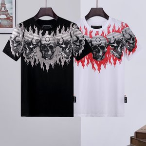 PP phillip plain Tshirts skull tshirt Luxury T-Shirt men t shirt high grade cotton designs Couples Tee Male Top aape supre Versae totes handbags colors eyeshadow