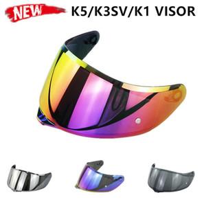K5 Helmet Visor High Quality Purple Red Gold Full Face Motorcycle Helmet Visor for K1 SV K5 Capacete Lens Shield