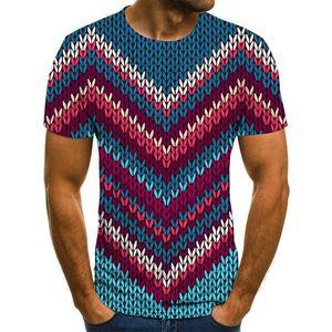 Summer Three-Dimensional Vortex Men Women 3D printing Oversized T-Shirt Fashion O-Neck Short Sleeve Trend Comfortable T-Shirt TXU-1624