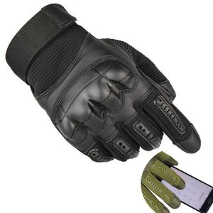 Tactical Airsoft Gloves Military Knuckle Punch Shooting Gear Army Combat Paintball Outdoor Hiking Full Finger