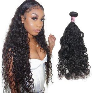 NamiBeauty Natürliche Wellenbündel Malaysische jungfräuliches Haar webt 100% unverarbeitete Haarverlängerungen 4 Stück Deals doppelt schuss