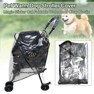 Pushchair Pram Dog Stroller Cover Foldable Waterproof Dustproof Carrier Accessories Clear Plastic Pet Warm Breathable Protection