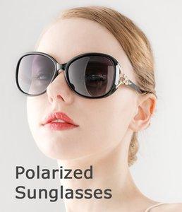 Coolsir Donne Occhiali da sole classici Retro Riso per unghie GRANDE Frame Sunglasses PC Specchio PC Piedino POLARIZZATO SPECCHIO DI GUIDALE Femmina 8842