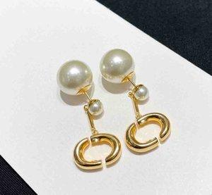 Pendiente de gota de calidad de lujo con la naturaleza de la naturaleza para las mujeres Regalo de la joyería de compromiso con el envío libre de la caja PS4289