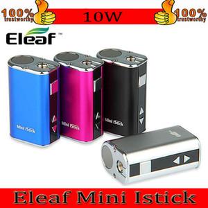 Eleaf Mini Istick Kit 1050mAh Batería incorporada 10W Max Output Variable Voltage Mod 4 colores con cable USB Ego Conector FAST DHL Envío