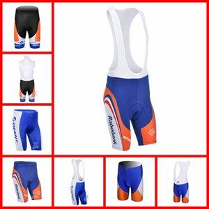 RABOBANK Team Mens Quick Dry Bicycle Bib Shorts Cycling Bib Shorts MTB Bike Gel Pad Shorts Outdoor Sports Wear S21021813