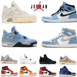 الرجال الهواء الأردني 1 1 ثانية hyper الملكي الأحذية عشبي unc 4 4 ثانية الشراع الجامعة الأزرق تويست ما حذاء كرة السلة أوريو أوريو أسود القط brd guava الجليد النساء أحذية رياضية