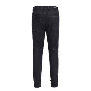 S 2021 HIPHOP новый стиль ретро вышивка буква отверстие Kanye West Men Fashion Jogger High Street Japan хлопковые джинсы 7Q5N H7LE