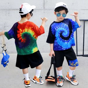 Terno Summer Sports 2021 New Korean Children's Middle School Boys Hip Hop