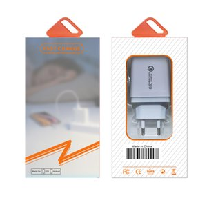 iB374 QC 3.0 Fast Quick Charge 3.5A USB Hub Wall Charger Power Adapter EU   US UK Plug Travel Phone Battery Chargers Socket