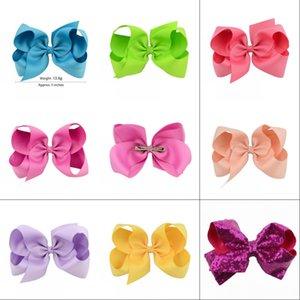 40 colori Scegli gratis 6 pollici Bambino Big Bow Hairbows Infant Girls Capelli Bows con barrettes 15 cm * 12 cm 310 u2