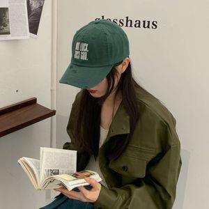 new English Embroidered Baseball men's Korean summer versatile sunshade Cap women's fashion brand