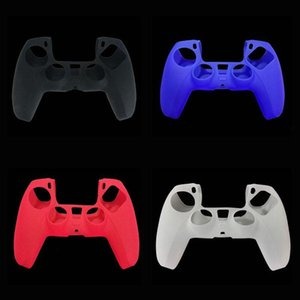 Pure Color Silicone Soft Protective Case Cover for Playstation PS5 Game Controller Gamepad Protector Skin Free Shipping
