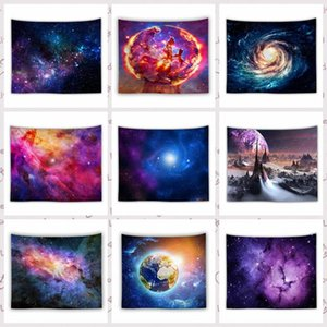 150*130cm Amazing Night Starry Sky Star Tapestry 3D Printed Wall Hanging Picture Bohemian Beach Towel Table Cloth Blankets RRA4138