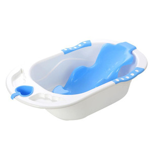2021 Fashion Folding Baby Shower Bathtub Safety Security Children Seat Folding Non-Slip Bathtub Body Clean Bathroom Accessories