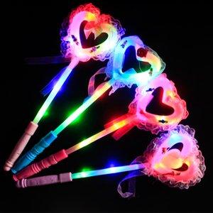 Love glow fairy stick lace love flash stick love magic lollipop children, Glow Toys