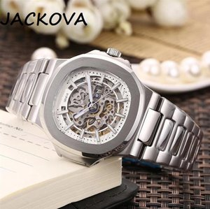 factory mens automatic mechanical watches silver strap blue gold watch stainles 316L steel waterproof wristwatch montre de luxe