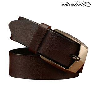 AOLUOLAN Designer Роскошь для мужчин PIN-код Пряжки пояса Лучшие моды Мужские кожаные ремни Бесплатная доставка